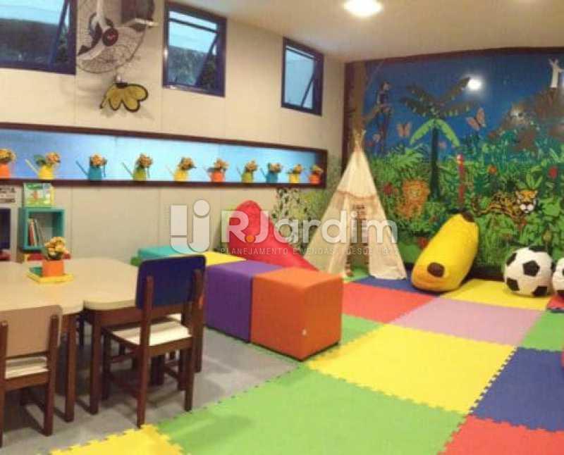 brinquedoteca - Compra Venda Avaliação Imóveis Flat Residencial Humaitá 2 Quartos - LAFL20080 - 17