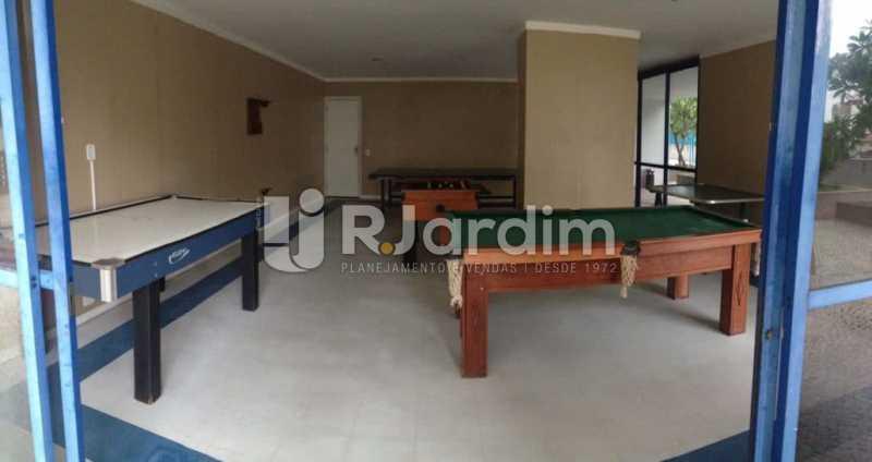 salão de jogos  - Compra Venda Avaliação Imóveis Flat Residencial Humaitá 2 Quartos - LAFL20080 - 20
