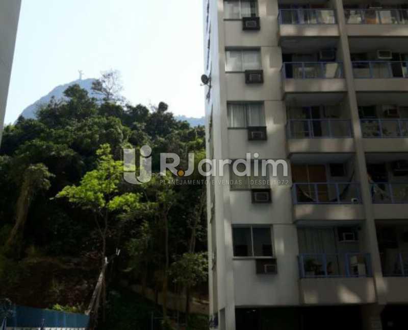 prédio  - Compra Venda Avaliação Imóveis Flat Residencial Humaitá 2 Quartos - LAFL20080 - 25