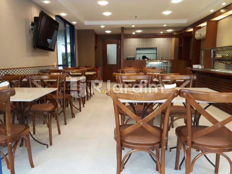 restaurantes - Compra Venda Avaliação Imóveis Flat Residencial Humaitá 2 Quartos - LAFL20080 - 18