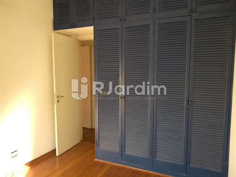 quarto/armários  - Compra Venda Avaliação Imóveis Flat Residencial Humaitá 2 Quartos - LAFL20080 - 11
