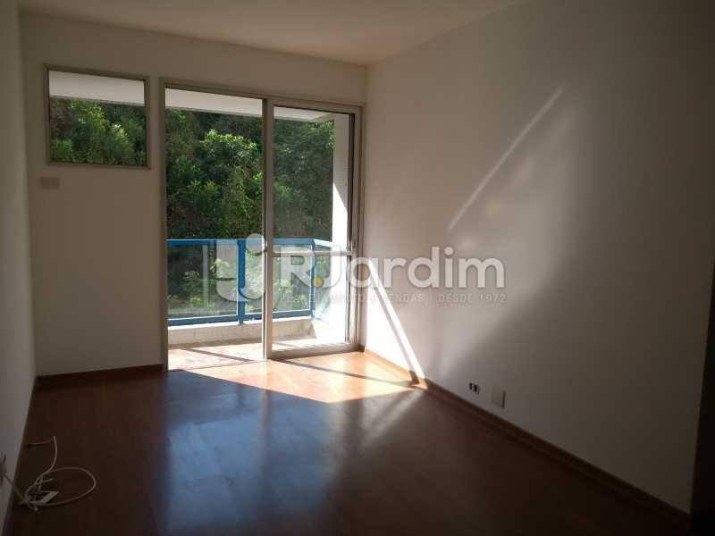 sala/ varanda - Compra Venda Avaliação Imóveis Flat Residencial Humaitá 2 Quartos - LAFL20080 - 6