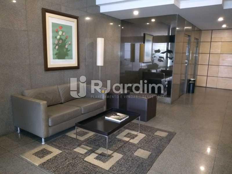 portaria - Compra Venda Avaliação Imóveis Flat Residencial Humaitá 2 Quartos - LAFL20080 - 28