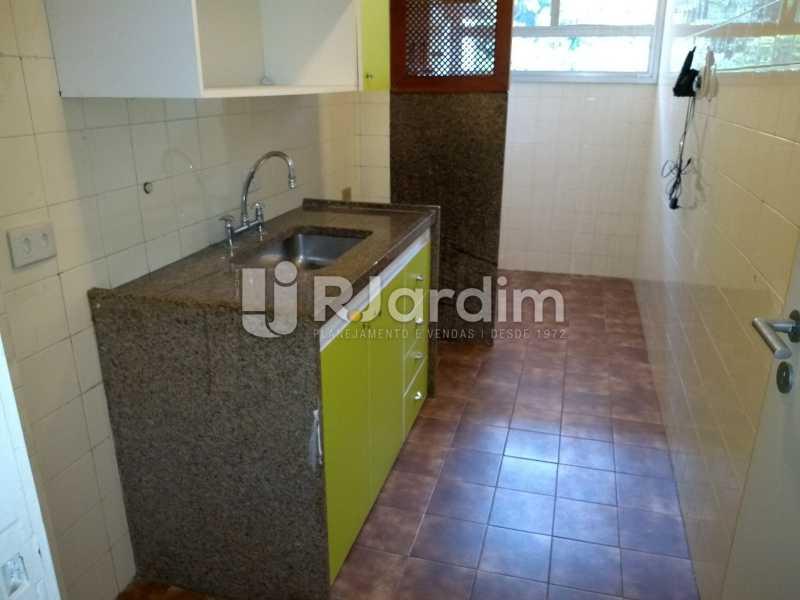 cozinha  - Compra Venda Avaliação Imóveis Flat Residencial Humaitá 2 Quartos - LAFL20080 - 24