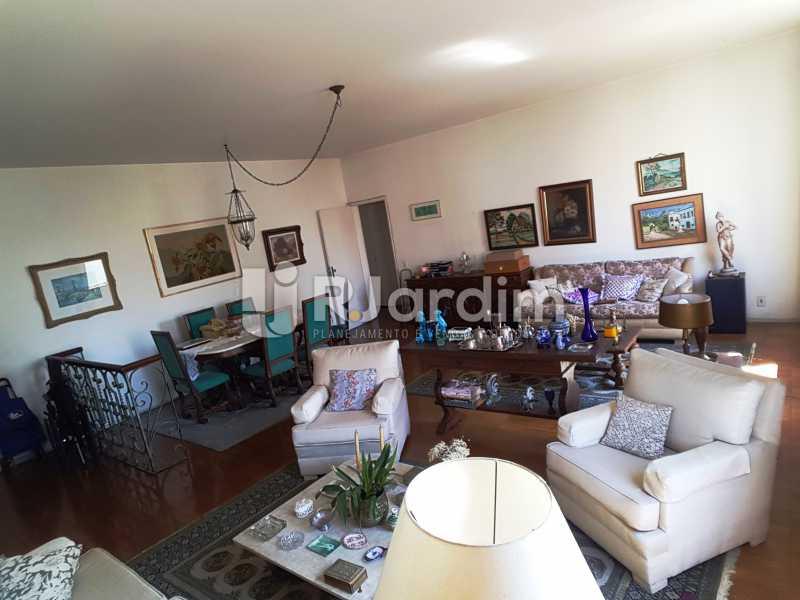 1° ambiente - Compra Venda Avaliação Imóveis Apartamento Leblon 3 Quartos - LAAP31832 - 4