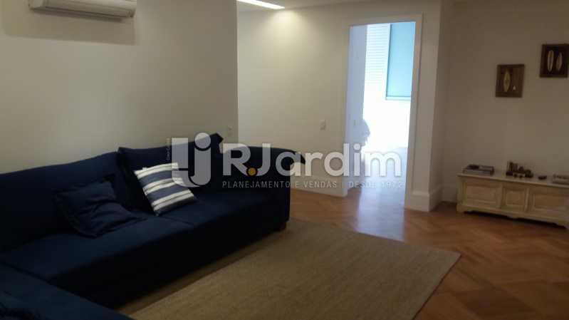Sala íntima - Compra Venda Avaliação Imóveis Apartamento Leblon 3 Quartos - LAAP31838 - 7