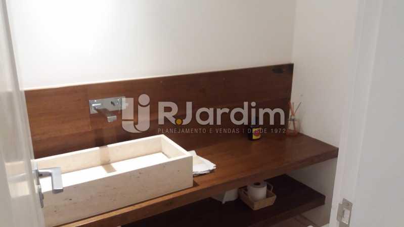 Lavabo - Compra Venda Avaliação Imóveis Apartamento Leblon 3 Quartos - LAAP31838 - 6