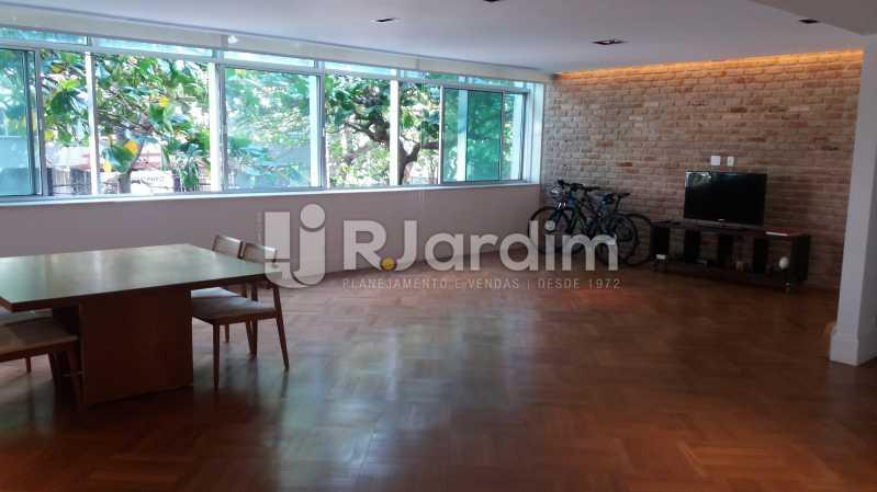 Sala - Compra Venda Avaliação Imóveis Apartamento Leblon 3 Quartos - LAAP31838 - 1