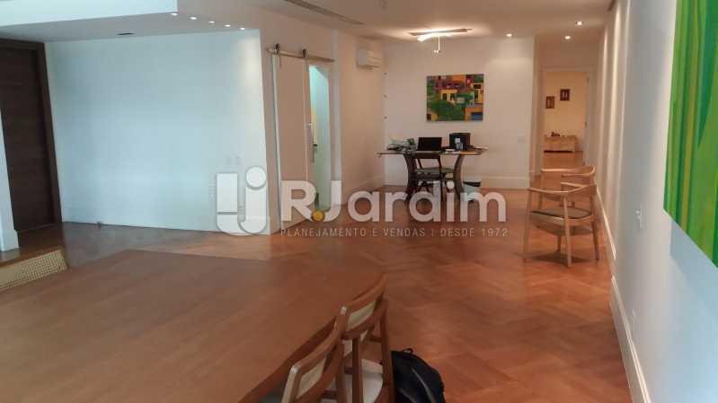 Sala - Compra Venda Avaliação Imóveis Apartamento Leblon 3 Quartos - LAAP31838 - 3