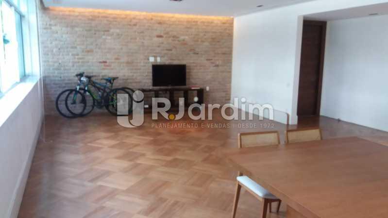 Sala - Compra Venda Avaliação Imóveis Apartamento Leblon 3 Quartos - LAAP31838 - 4
