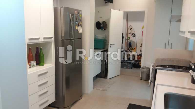 Cozinha - Compra Venda Avaliação Imóveis Apartamento Leblon 3 Quartos - LAAP31838 - 22