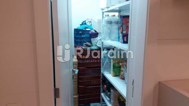 Despensa - Compra Venda Avaliação Imóveis Apartamento Leblon 3 Quartos - LAAP31838 - 24
