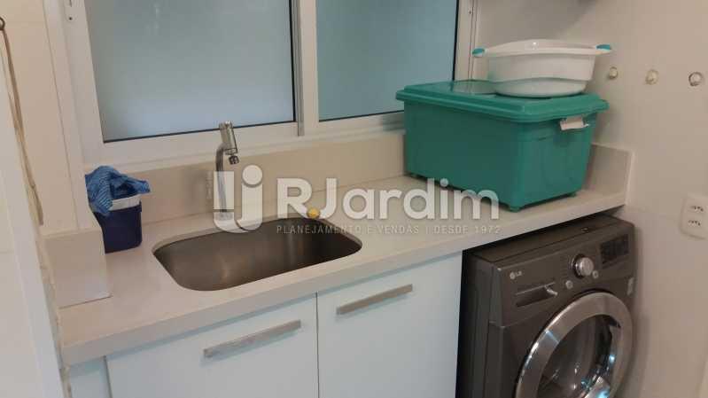 Lavanderia - Compra Venda Avaliação Imóveis Apartamento Leblon 3 Quartos - LAAP31838 - 26