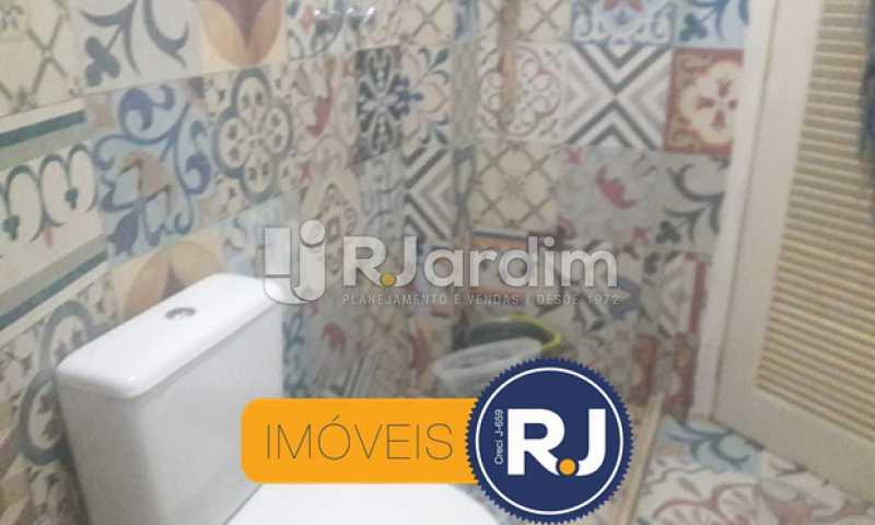Banheiro  - ipanema, sala quarto, posto 10 - LAAP10314 - 11