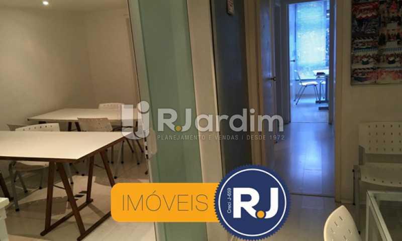 corredor principal - Sala Comercial Botafogo, Zona Sul,Rio de Janeiro, RJ À Venda, 106m² - LASL00174 - 16