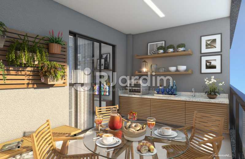 VARANDA  - Vila 311 Apartamento Vila Isabel 1 Quarto - LAAP10319 - 5