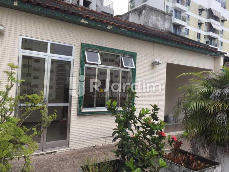 area externa  - Imóveis Aluguel Cobertura Linear Botafogo 1 Quarto - LACO10019 - 1