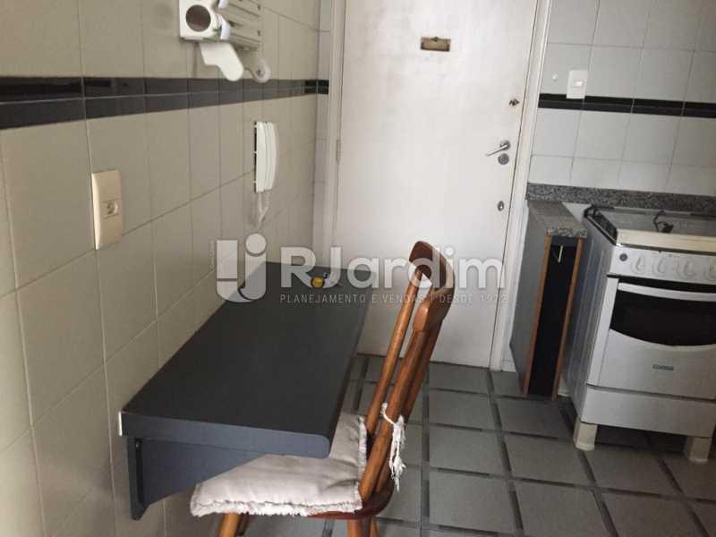 cozinha  - Imóveis Aluguel Cobertura Linear Botafogo 1 Quarto - LACO10019 - 10