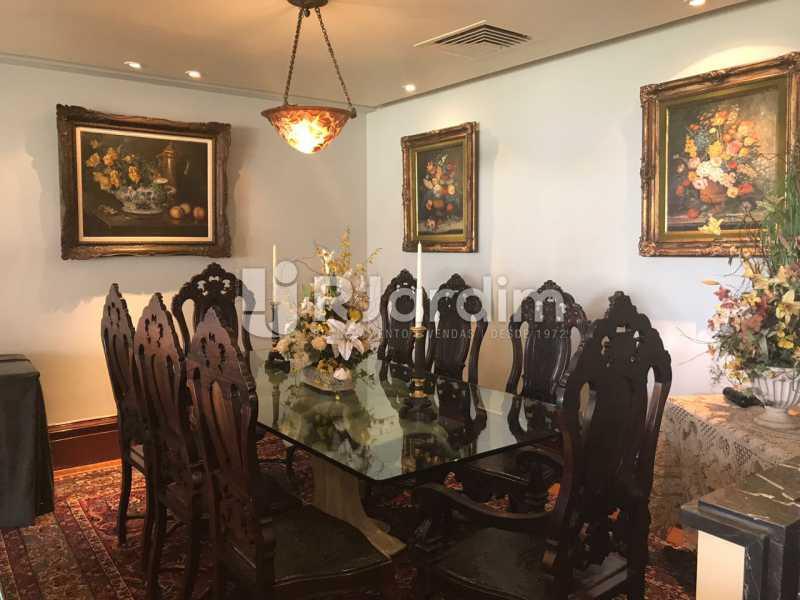 Sala de jantar - Apartamento para alugar Avenida Epitácio Pessoa,Lagoa, Zona Sul,Rio de Janeiro - R$ 7.500 - LAAP31862 - 14
