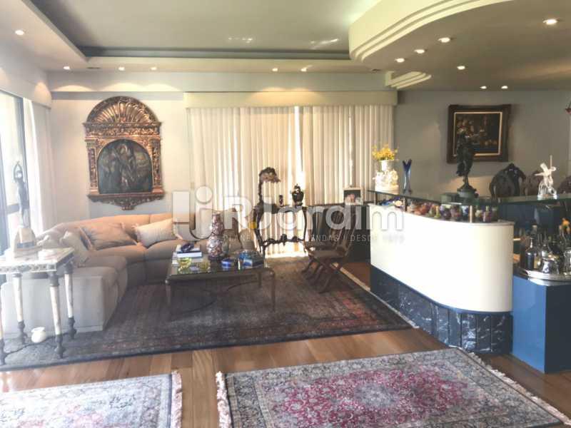 Sala de estar e bar - Apartamento para alugar Avenida Epitácio Pessoa,Lagoa, Zona Sul,Rio de Janeiro - R$ 7.500 - LAAP31862 - 8