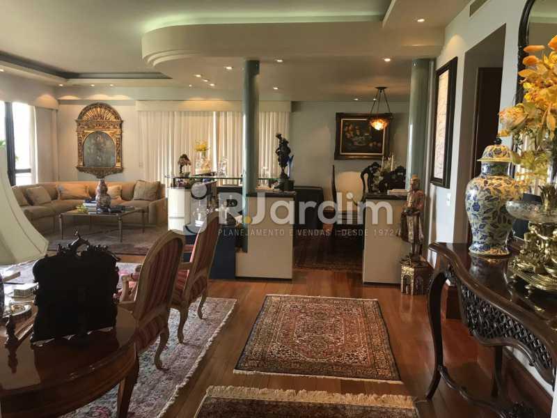 Sala de estar - Apartamento para alugar Avenida Epitácio Pessoa,Lagoa, Zona Sul,Rio de Janeiro - R$ 7.500 - LAAP31862 - 12