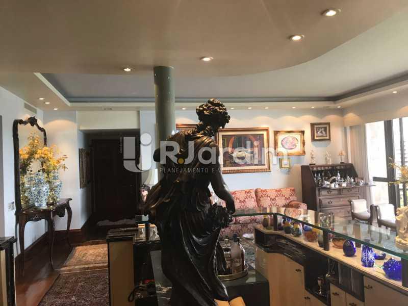 Sala  de estar - Apartamento para alugar Avenida Epitácio Pessoa,Lagoa, Zona Sul,Rio de Janeiro - R$ 7.500 - LAAP31862 - 13
