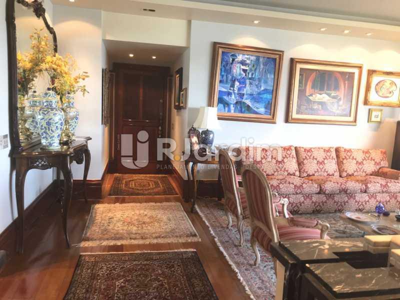Sala de estar - Apartamento para alugar Avenida Epitácio Pessoa,Lagoa, Zona Sul,Rio de Janeiro - R$ 7.500 - LAAP31862 - 7