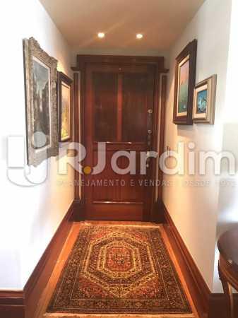 Hall - Apartamento para alugar Avenida Epitácio Pessoa,Lagoa, Zona Sul,Rio de Janeiro - R$ 7.500 - LAAP31862 - 6