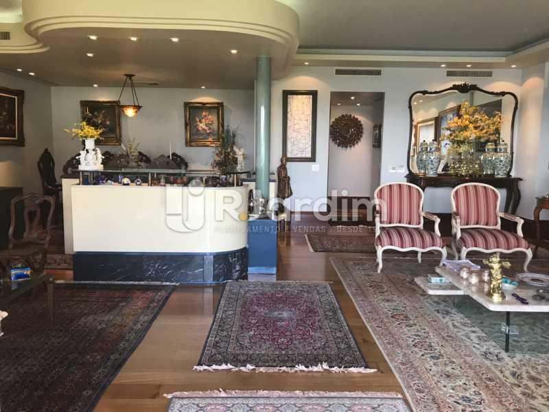 Sala de estar e bar - Apartamento para alugar Avenida Epitácio Pessoa,Lagoa, Zona Sul,Rio de Janeiro - R$ 7.500 - LAAP31862 - 10