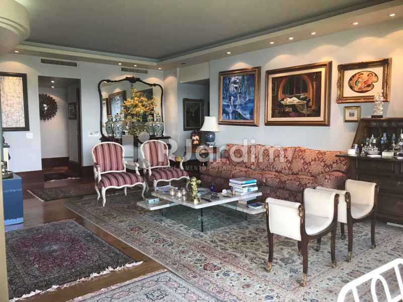 Sala de estar - Apartamento para alugar Avenida Epitácio Pessoa,Lagoa, Zona Sul,Rio de Janeiro - R$ 7.500 - LAAP31862 - 11