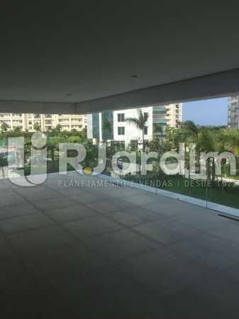 VARANDA  - Compra Venda Avaliação Imóveis Apartamento Barra da Tijuca 4 Quartos - LAAP40719 - 9