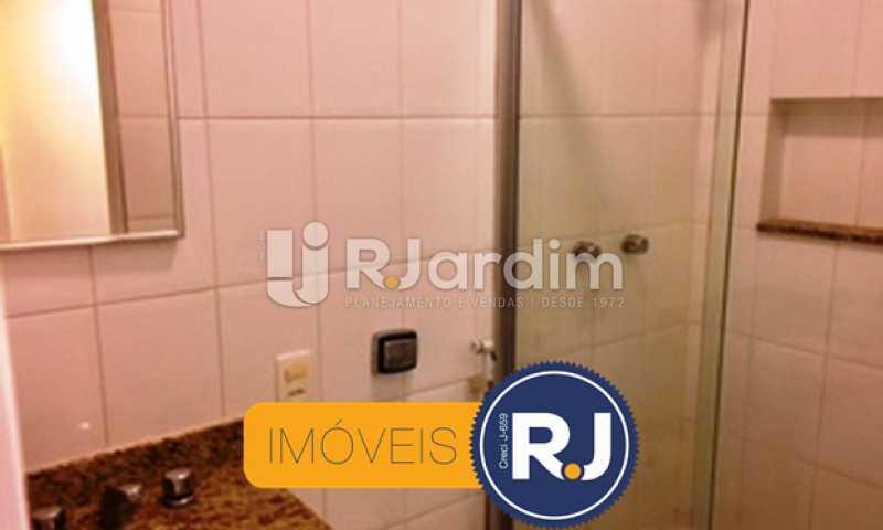 Banheiro - Compra Venda Avaliação Imóveis Apartamento Copacabana 1 Quarto - LAAP10323 - 7