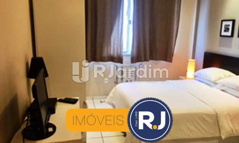 Vista do quarto - Compra Venda Avaliação Imóveis Apartamento Copacabana 1 Quarto - LAAP10323 - 5