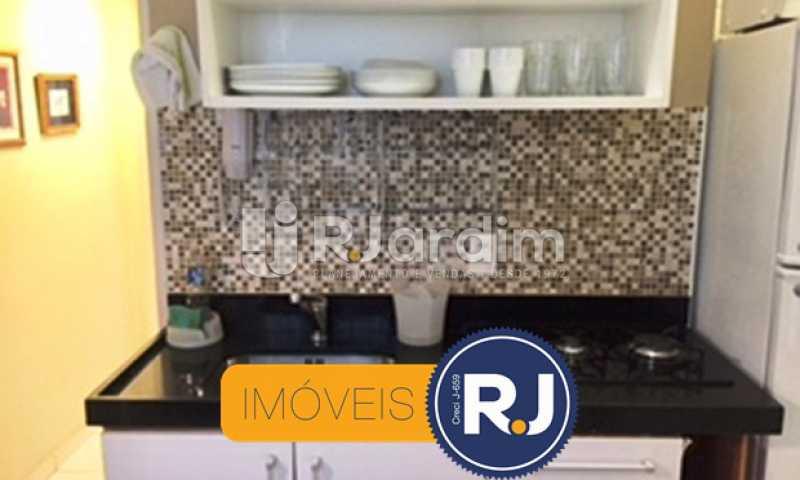 Cozinha - Compra Venda Avaliação Imóveis Apartamento Copacabana 1 Quarto - LAAP10323 - 6