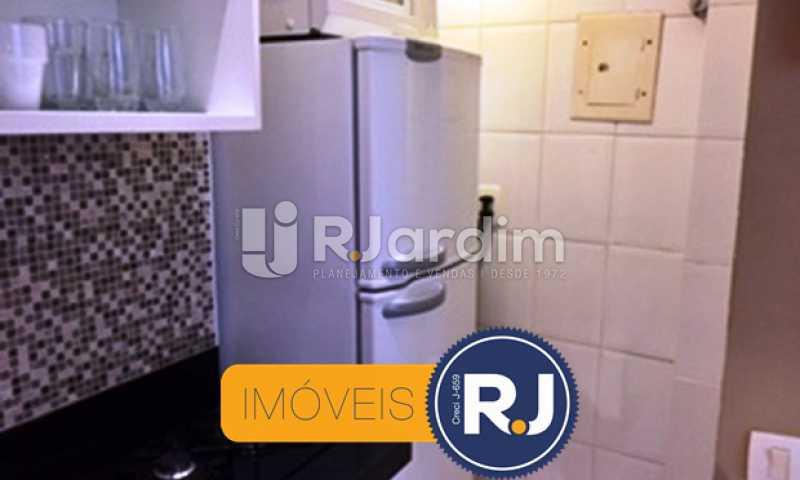 Cozinha - Compra Venda Avaliação Imóveis Apartamento Copacabana 1 Quarto - LAAP10323 - 8