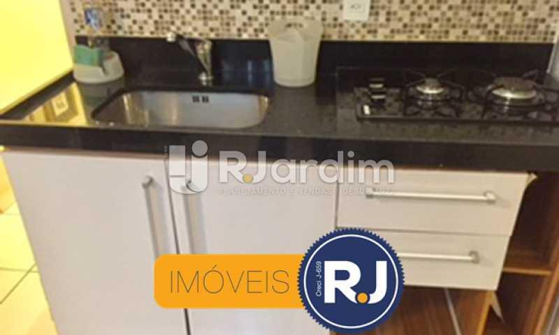 Cozinha - Compra Venda Avaliação Imóveis Apartamento Copacabana 1 Quarto - LAAP10323 - 12