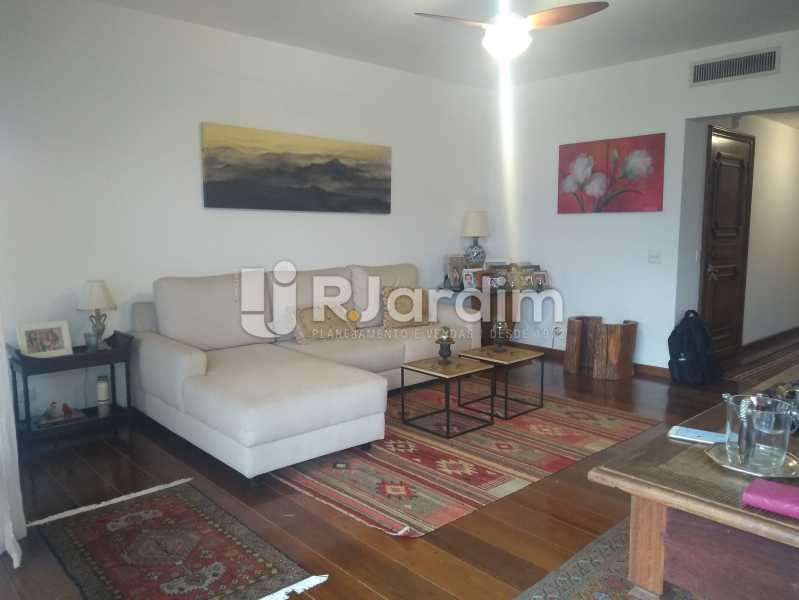 Sala  - Imóveis Aluguel Apartamento Lagoa 3 Quartos - LAAP31866 - 6