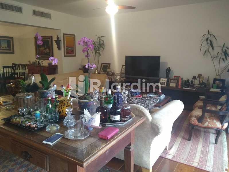 Sala  - Imóveis Aluguel Apartamento Lagoa 3 Quartos - LAAP31866 - 7