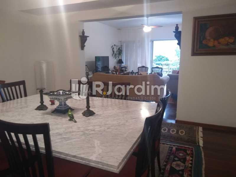 Sala Jantar - Imóveis Aluguel Apartamento Lagoa 3 Quartos - LAAP31866 - 9
