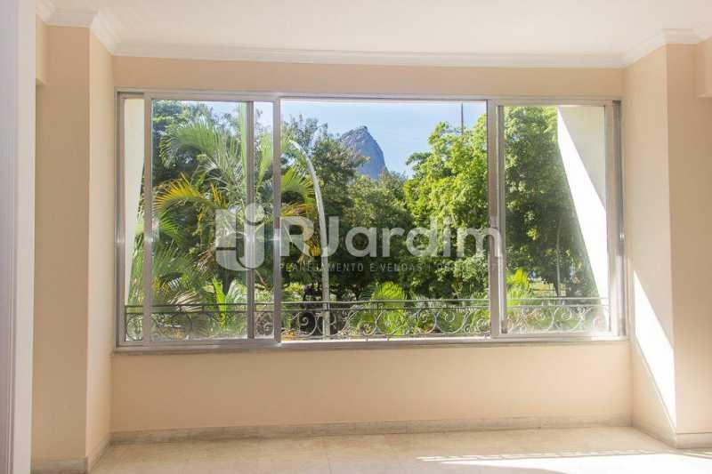 vista da sala - Compra Venda Avaliação Imóveis Apartamento Flamengo 4 Quartos - LAAP40722 - 3