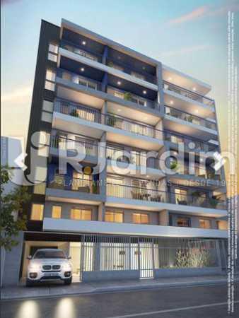 FACHADA RUA DO RESENTE - Apartamento À Venda - Lapa - Rio de Janeiro - RJ - LAAP10325 - 4