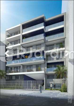FACHADA UBALDINO DO AMARAL - Apartamento À Venda - Lapa - Rio de Janeiro - RJ - LAAP10325 - 3