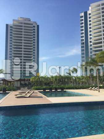 PISCINA  - Compra Venda Avaliação Imóveis Apartamento Barra da Tijuca 4 Quartos - LAAP40723 - 3