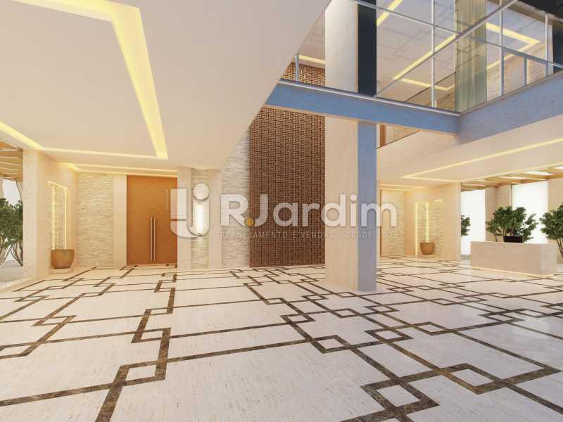 LOBBY  - Compra Venda Avaliação Imóveis Apartamento Barra da Tijuca 4 Quartos - LAAP40723 - 8