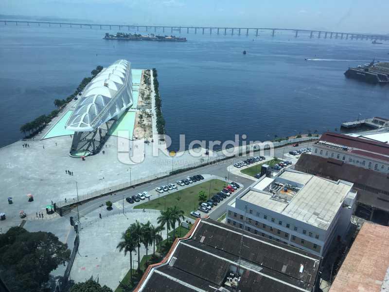 vista da sala - Sala Comercial Avenida Rio Branco,Centro, Zona Central,Rio de Janeiro, RJ Para Alugar, 141m² - LASL00179 - 1