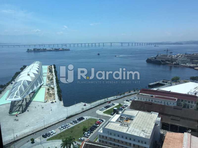 vista da sala - Sala Comercial Avenida Rio Branco,Centro, Zona Central,Rio de Janeiro, RJ Para Alugar, 141m² - LASL00179 - 3