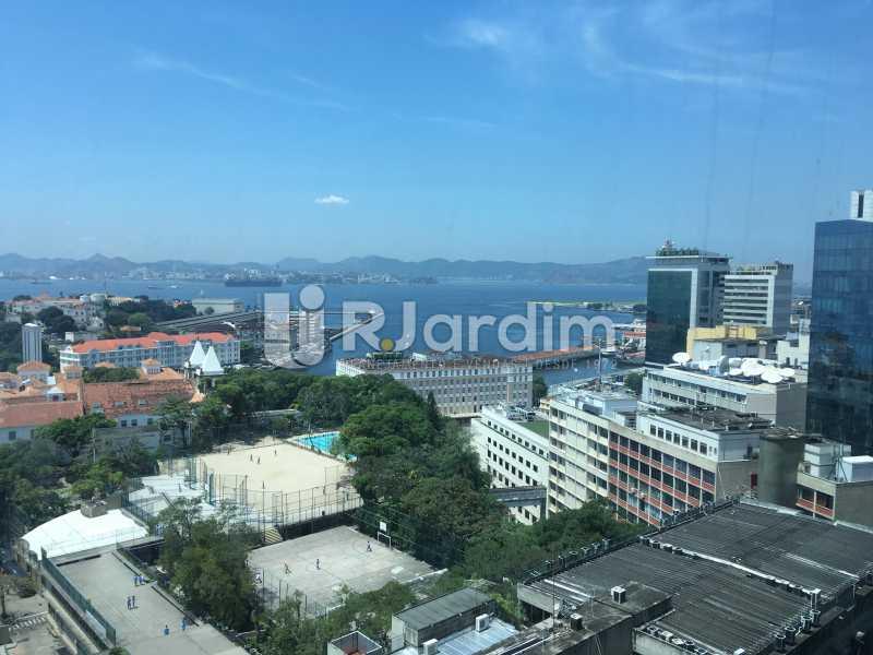 vista da sala - Sala Comercial Avenida Rio Branco,Centro, Zona Central,Rio de Janeiro, RJ Para Alugar, 141m² - LASL00179 - 4