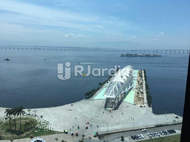 vista da sala - Sala Comercial Avenida Rio Branco,Centro, Zona Central,Rio de Janeiro, RJ Para Alugar, 141m² - LASL00179 - 5
