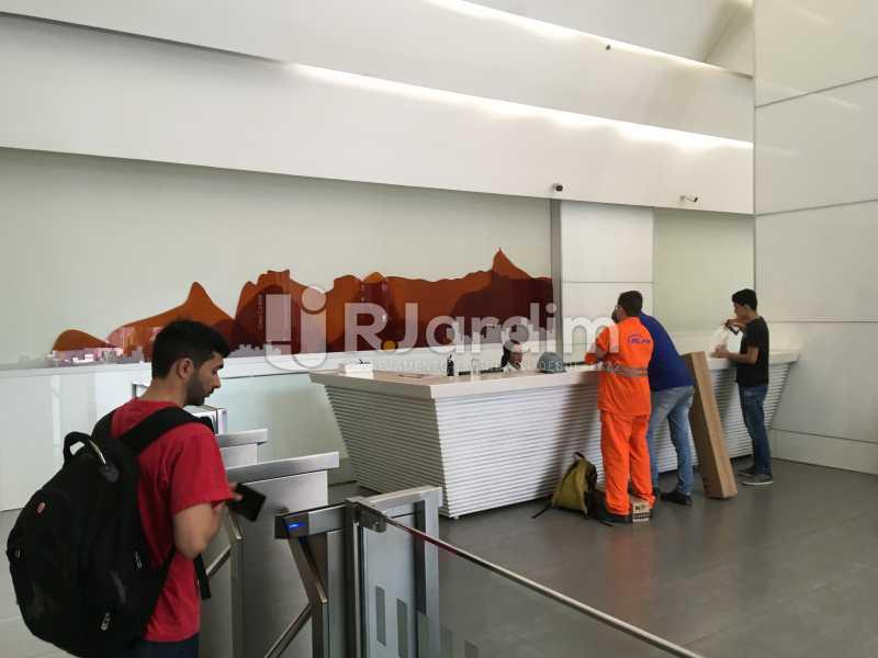 recepção - Sala Comercial Avenida Rio Branco,Centro, Zona Central,Rio de Janeiro, RJ Para Alugar, 141m² - LASL00179 - 8