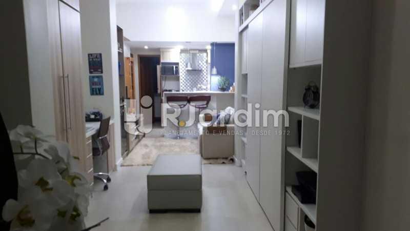 Sala do loft 2 - Apartamento Glória, Zona Central,Rio de Janeiro, RJ À Venda, 1 Quarto, 67m² - LAAP10326 - 3